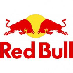 Red bull 50 cm. pegatina...