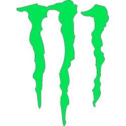Garra monster pegatina...