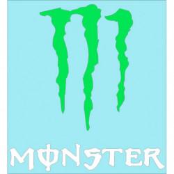 Monster 40 cm. pegatina...