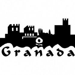 Granada alhambra pegatina...