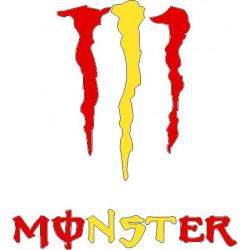 Monster bandera 10 cm...