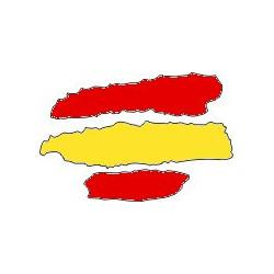 Bandera rafaga 7,5 cm...