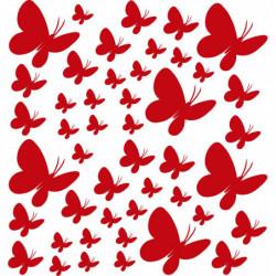 Juego decorativo mariposas...