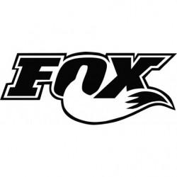 Fox cola 10 cm pegatina...