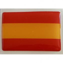 Bandera españa resina 4'5x3...